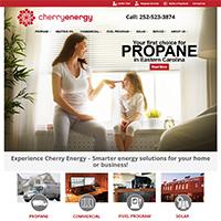 Cherry Energy website