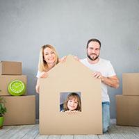Family - house cutout