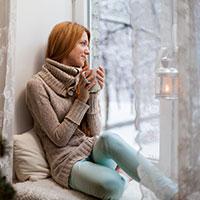 Warm indoors
