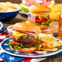Memorial Day burger